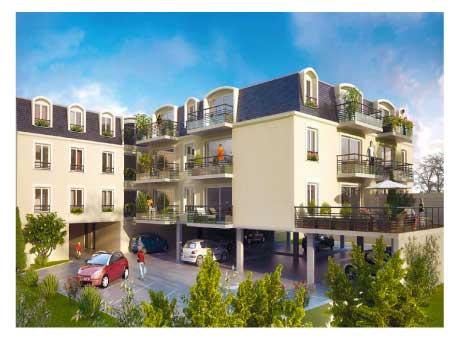 villa millesima appartement neuf marne le blan promotion. Black Bedroom Furniture Sets. Home Design Ideas